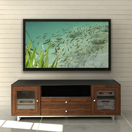 Sanus professional for Best tv to hang on wall